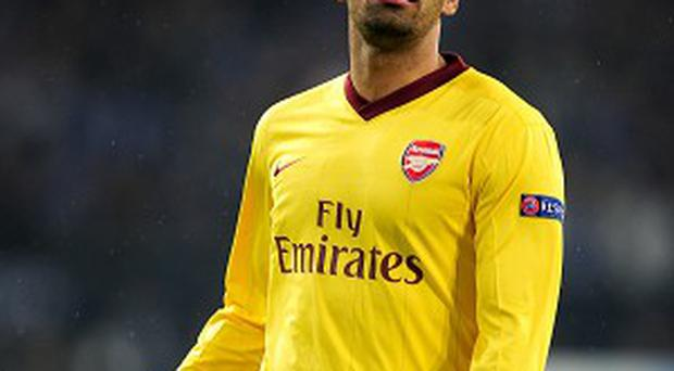 Andre Santos is set to end his short-lived spell at Arsenal