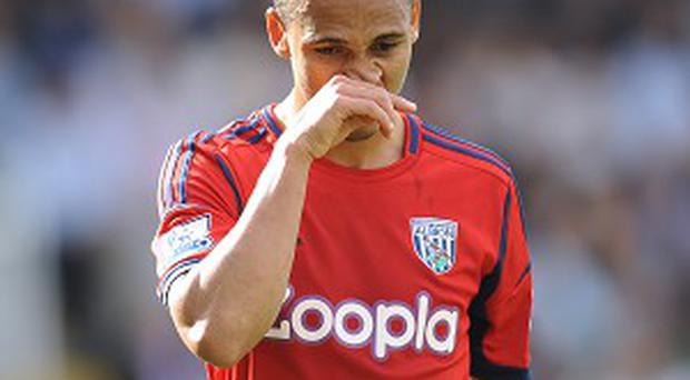 Peter Odemwingie is slowly reintegrating himself into the West Brom squad