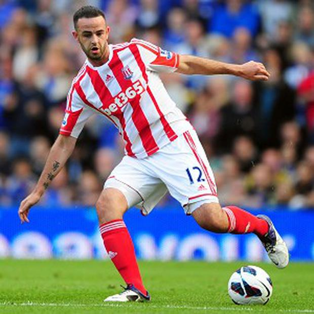 Marc Wilson, pictured, is raring to go, according to his manager Tony Pulis