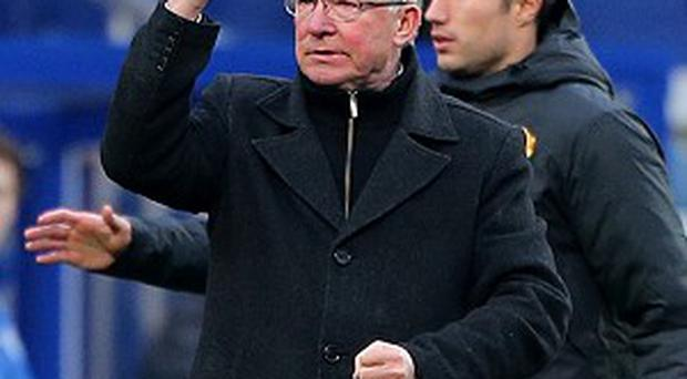 Sir Alex Ferguson's Manchester United moved 15 points clear at the top