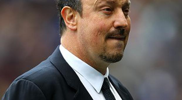 Rafael Benitez has failed to win over a section of the Chelsea fans.