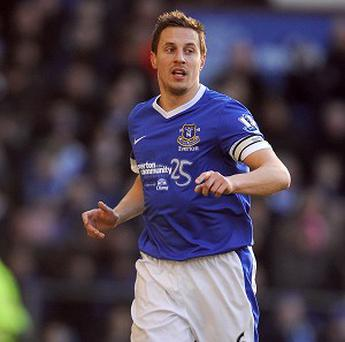 Phil Jagielka, pictured, was injured in a challenge from Adam Le Fondre on Saturday