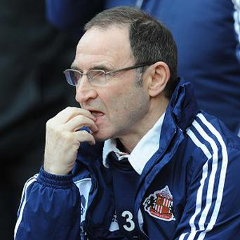 Martin O'Neill felt the referee failed to give a 'clear-cut' penalty in Sunderland's favour