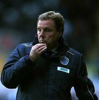 Harry Redknapp insists the finances at QPR are none of his business