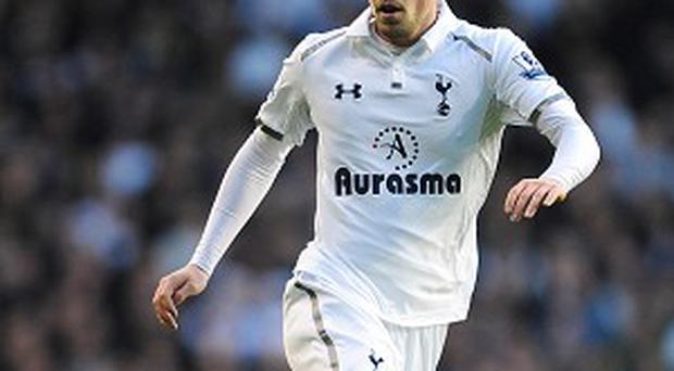 Gylfi Sigurdsson, pictured, set up Gareth Bale for Tottenham's first goal in their Europa League victory over Inter