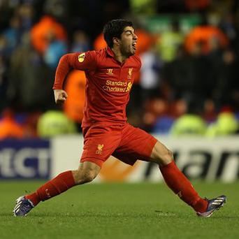 Spurs boss Andre Villas-Boas is wary of the prolific player-of-the-year contender Luis Suarez, pictured
