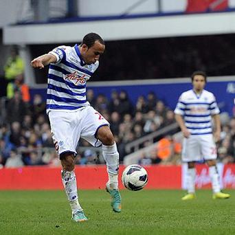Andros Townsend scores QPR's second goal of the game against Sunderland