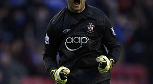 Artur Boruc saved a late penalty for Southampton