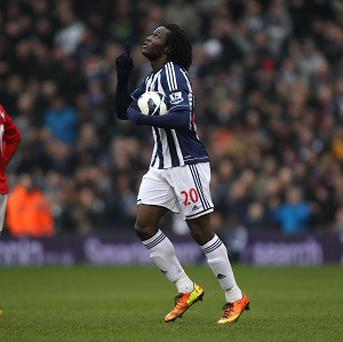 Romelu Lukaku scored a goal and missed a penalty for West Brom