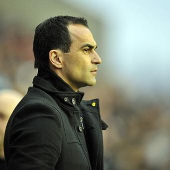 Roberto Martinez wants to see an improvement in Wigan's home form
