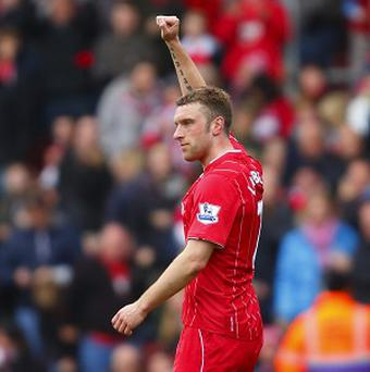 Rickie Lambert was on target in Southampton's victory over Liverpool