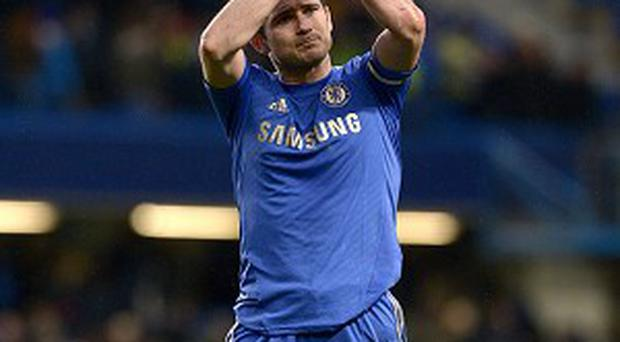 Frank Lampard is just two goals shy of equalling Chelsea's all-time scoring record