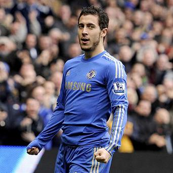 Eden Hazard, pictured, has 'the world at his feet', according to Frank Lampard