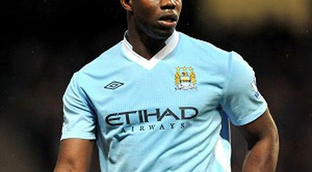 Micah Richards is back in training for Manchester City