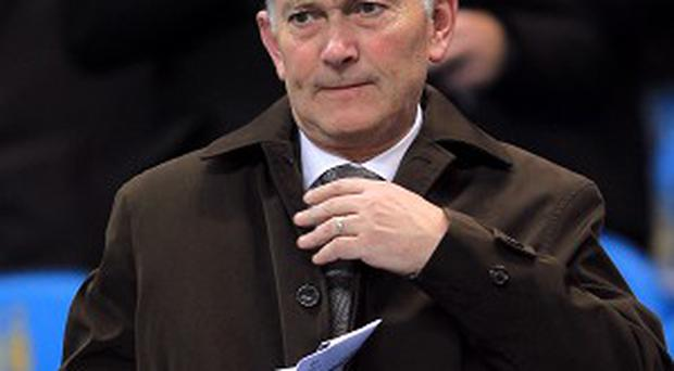 Richard Scudamore, pictured, believes the FA should have charged Callum McManaman