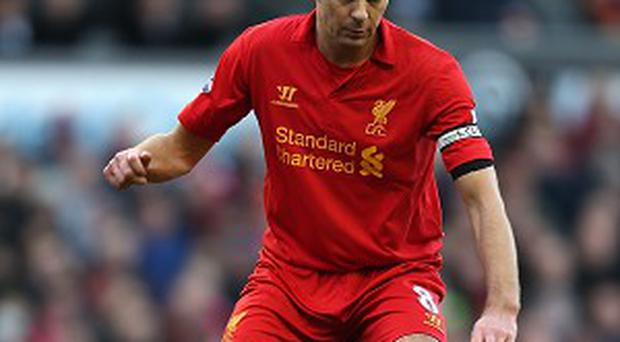 Steven Gerrard has played every minute of Liverpool's 30 Premier League matches this season
