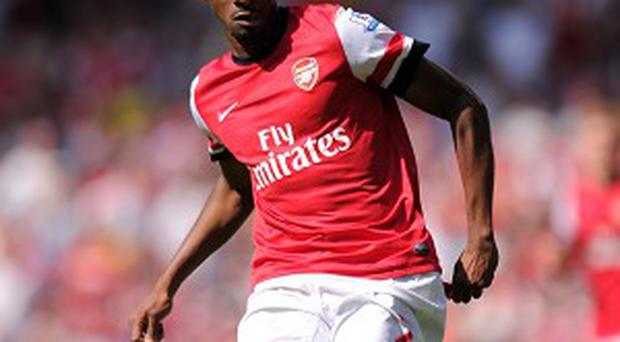 Abou Diaby is expected to be out for up to nine months