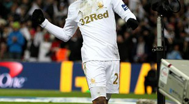 Jonathan de Guzman bagged a brace in Swansea's Capital One Cup triumph