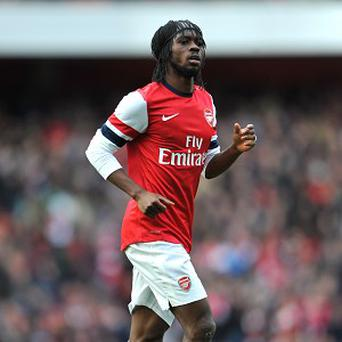 Gervinho's career at Arsenal looks to be coming to an end