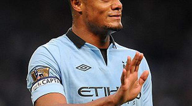 Vincent Kompany wants Manchester City to finish on a high