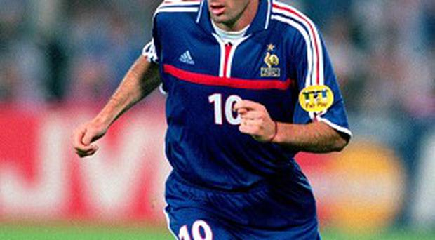 Zinedine Zidane, three times FIFA World Player of the Year, will feature at Old Trafford