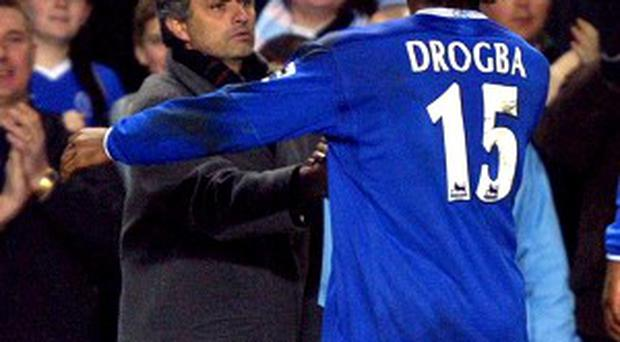 Didier Drogba was a key part of Jose Mourinho's successful spell at Chelsea