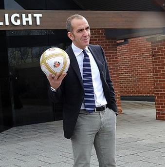 Trevor Sinclair says Paolo Di Canio's, pictured, 'comments should be taken with a pinch of salt'