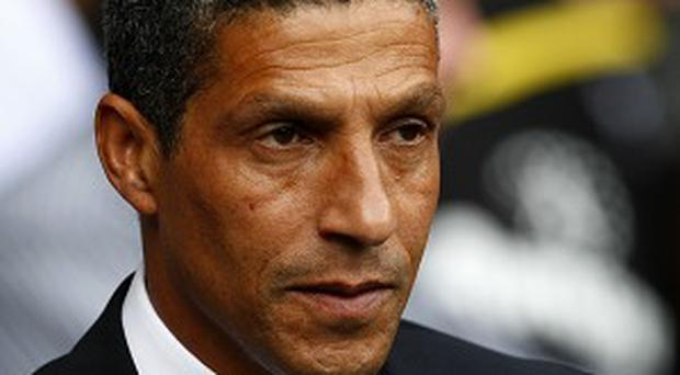 Chris Hughton believes two more wins will keep Norwich up