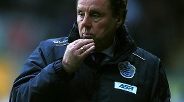 Harry Redknapp's job appears safe even if QPR go down