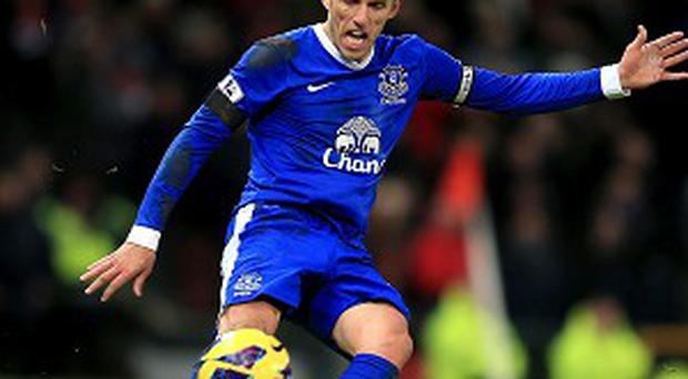 Phil Neville joined Everton from Manchester United