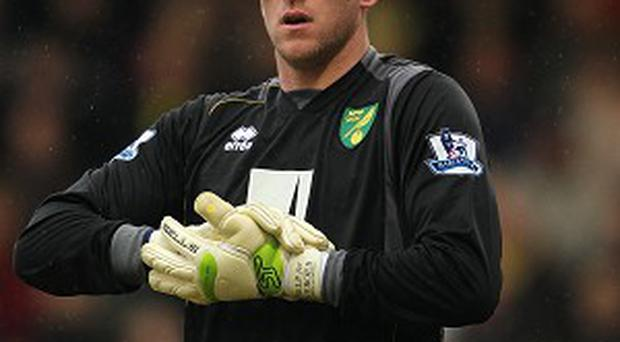 John Ruddy is getting closer to a return for Norwich