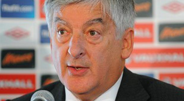 David Bernstein said the Football Association will not necessarily follow Uefa's recommendation for a 10-match ban for players guilty of racism