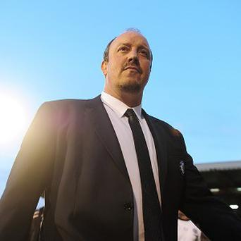 Rafael Benitez won the Champions League with Liverpool in 2005