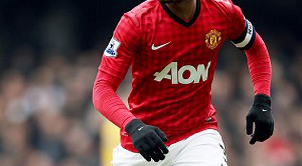 Patrice Evra was in the Manchester United side that drew 2-2 with West Ham