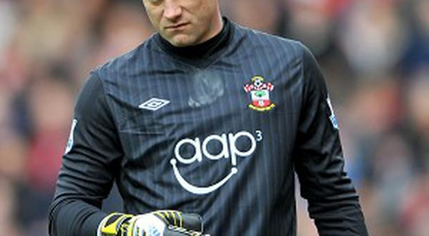 Artur Boruc is staying at St Mary's after penning a new deal