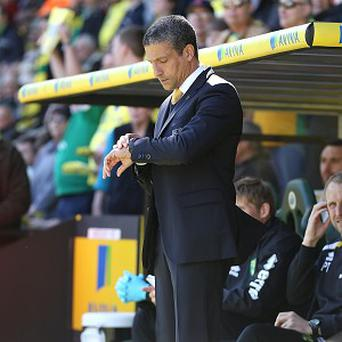 Chris Hughton admits Norwich are still not safe from relegation