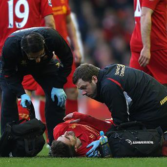 Fabio Borini suffered a shoulder injury in February