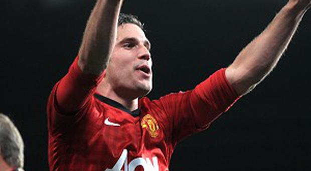 Robin Van Persie has scored 28 goals for Manchester United since joining from Arsenal