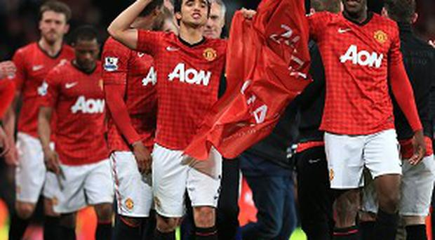 Manchester United won the title on Monday night