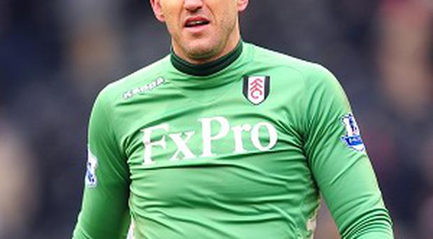 Martin Jol revealed Mark Schwarzer, pictured, has not responded to a contract offer from Fulham yet