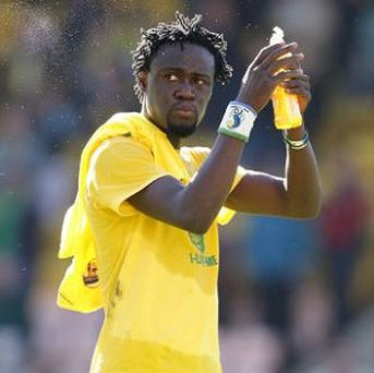 Norwich's Kei Kamara failed to secure a contract with Stoke