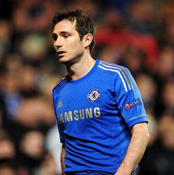 Frank Lampard is out of contract at the end of the season