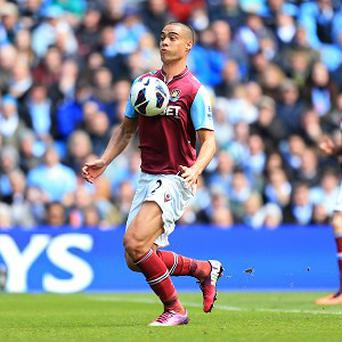 Winston Reid has played in 33 of West Ham's 35 Barclays Premier League fixtures this season