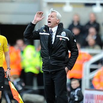 Alan Pardew's Newcastle have taken just one point from their past three games