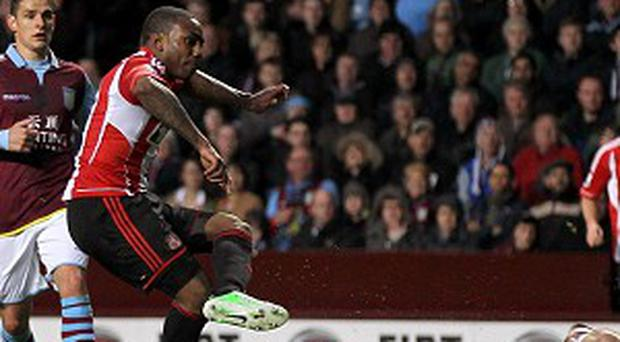 Danny Rose, centre, has made 27 appearances for Sunderland