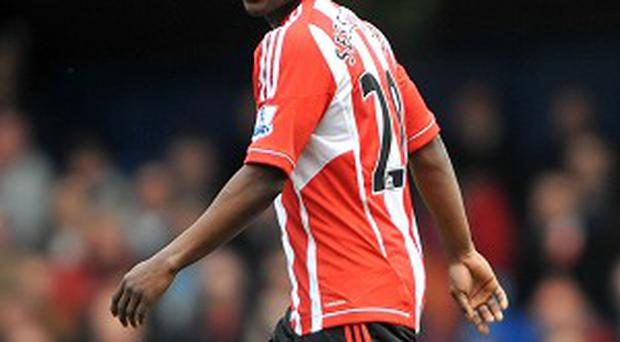 Stephane Sessegnon was sent off during Sunderland's hammering to Aston Villa