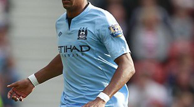 Roberto Mancini says Scott Sinclair, pictured, is unlucky to have not played more this season