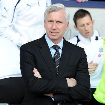 Alan Pardew is determined to keep Newcastle in the Premier League