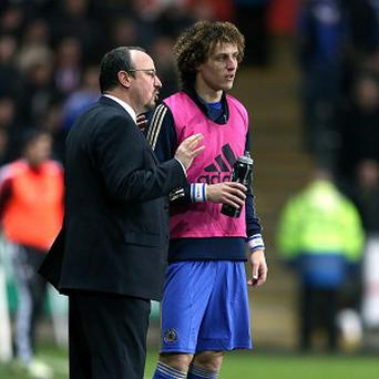 David Luiz, right, has heaped praise on Rafael Benitez, left