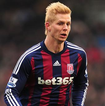 Brek Shea has been told to be patient and wait for his chance in Stoke's starting XI